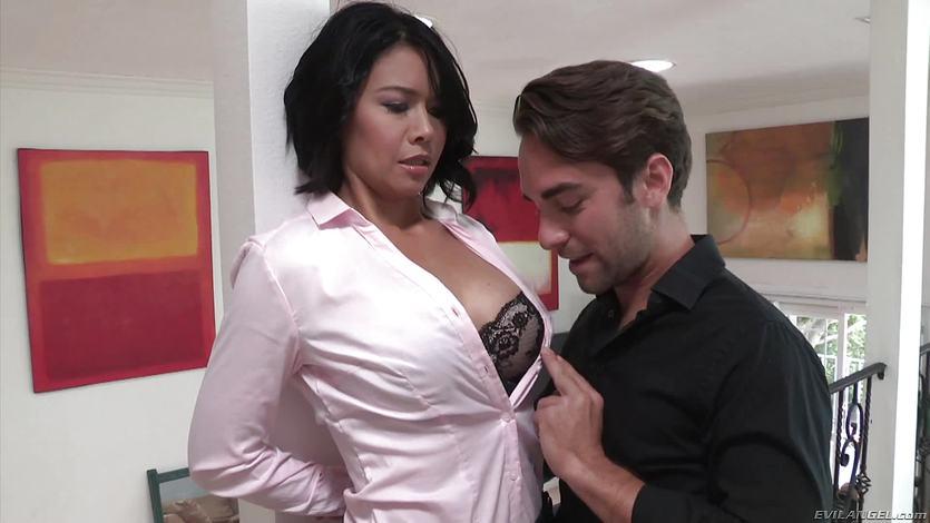 Mean stepson fucks sexy MILF Dana Vespoli | PornTube ®