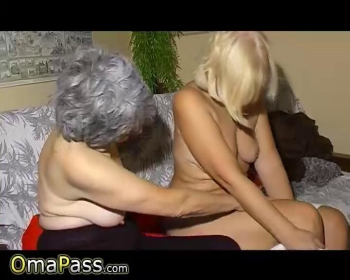 nasty old grannies getting lesbo freaky with each other - Hardsextube