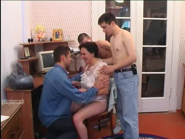 She Meets Three Guys Online, Invites Them Over And Fucks Them All