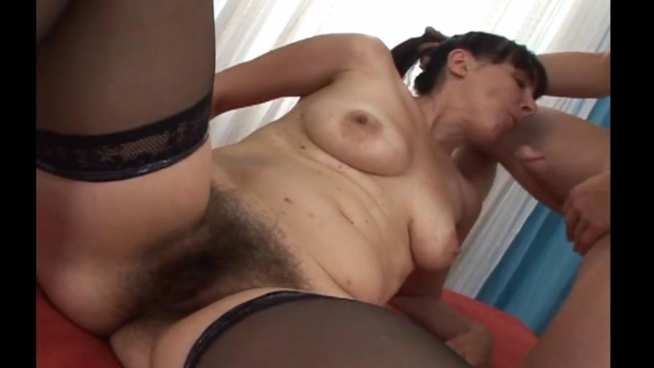 Hairy brunette granny banging her brains out with a young stud - Hardsextube