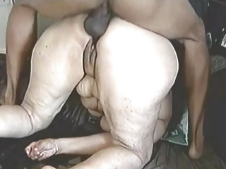 Squirting granny