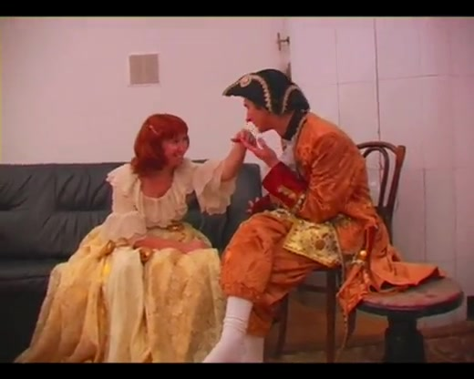 Mature Redhead Enjoys A Wild Doggy Style Humping In A Cosplay Clip
