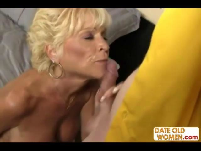 blonde granny is taking a lead in this sex scene - Hardsextube