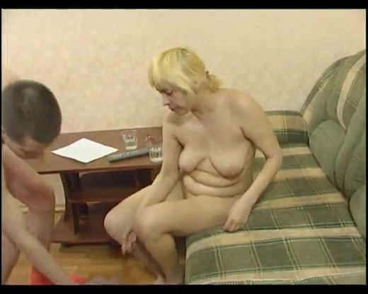 Blonde Tutor Gives Her Much Younger Student An Erotic Sex Lesson
