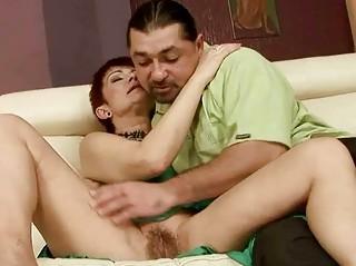Sexy grandma gets fucked pretty hard