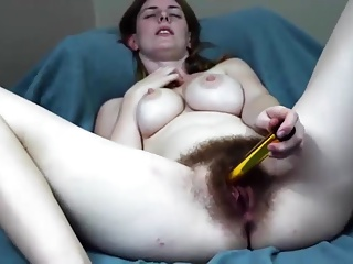 Hottest Hairy Girl ever Seen On Cam VR88