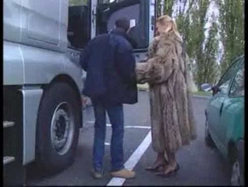Anastasia Kass - Blowjob In A Fur Coat