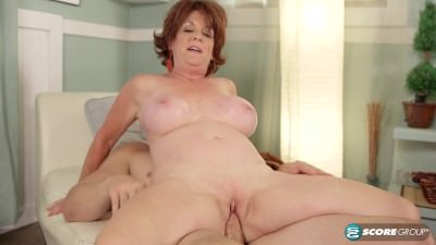cheating granny with young stud - Mature sex video
