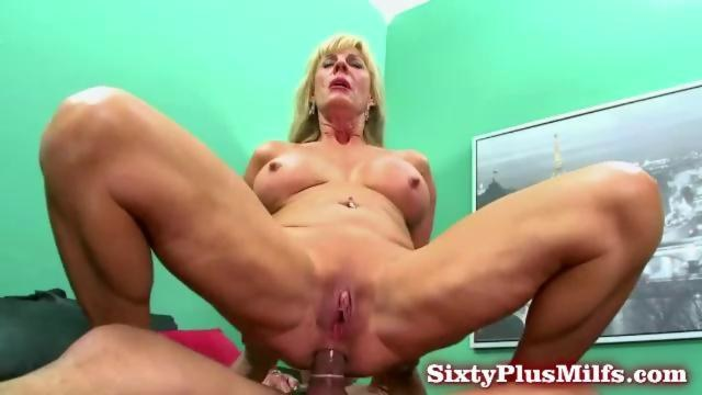 Granny blows and gets anal sex on GotPorn