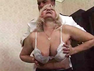 Hot Granny Makes a porno