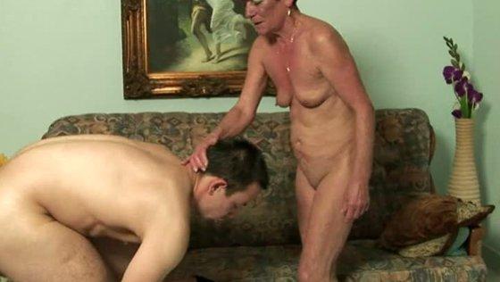 HANDSOME STALKER - Grannies porn