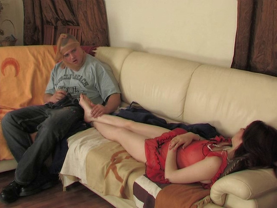 Sleeping mom fucked by the robber - MILF porn