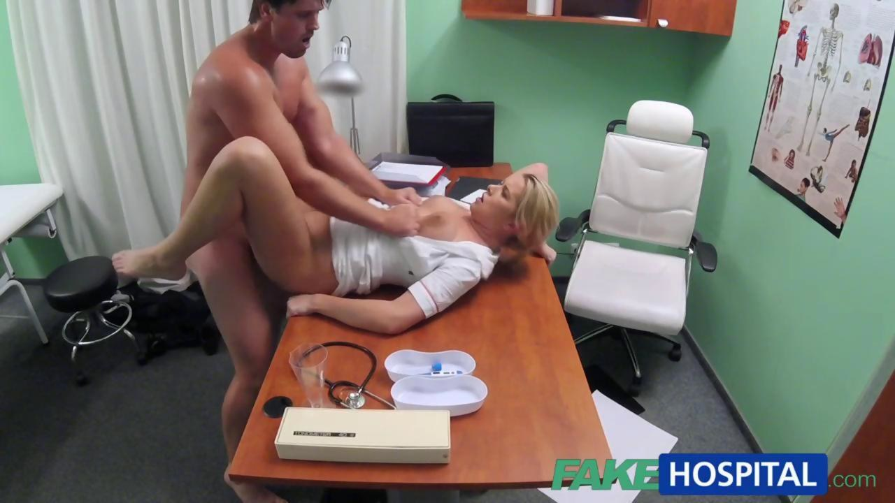 FakeHospital Nurse helps stud get an erection on GotPorn