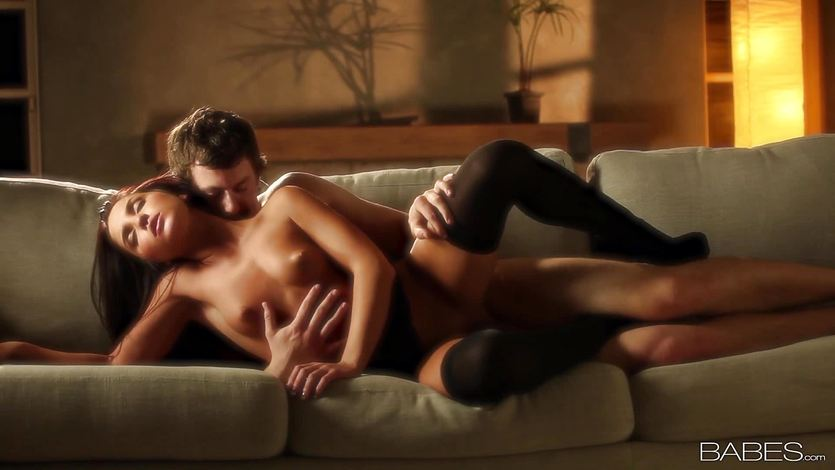 Giselle Leon gets loaded by her mans big dick | PornTube ®