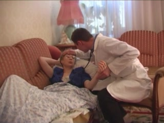 Horny Doctor Visits His Mature Patient At Home And Fucks Her