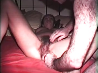 hairy husband with wife (full bush)