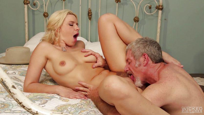 Hot hooker Anikka Albrite fucks her favourite wild west clien... | PornTube ®