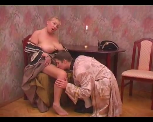 Crafty Milf Hops Onto A Table For A Raunchy Pussy Drilling Action With Her Younger Stud