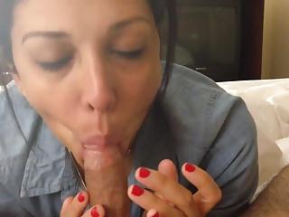 Peruana mamando