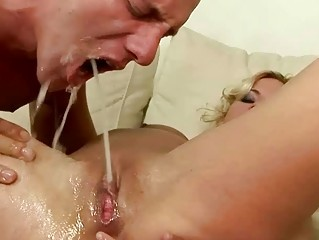 Hot couple pissing and fucking