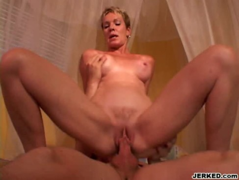 Tera - Amazing MILF Riding On A Young Cock