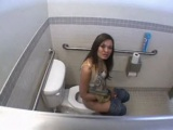 Brunette Finds A Dick and Fucked Inside The Toilet erotic