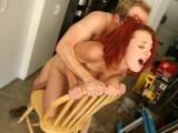 Redhead Slut Loves brutal treatment