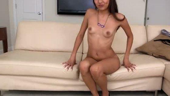 Cute Latina babe giving head and fucking missionary style - Latina porn