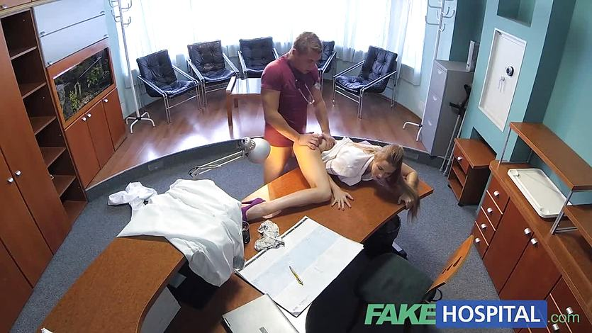 FakeHospital hot sex with doctor and nurse | PornTube ®