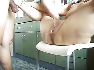 Chair Sex & Multiple Squirts