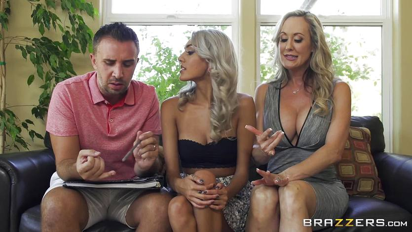 Babysitter Janice Griffith joins Brandi Love for a fucking | PornTube ®