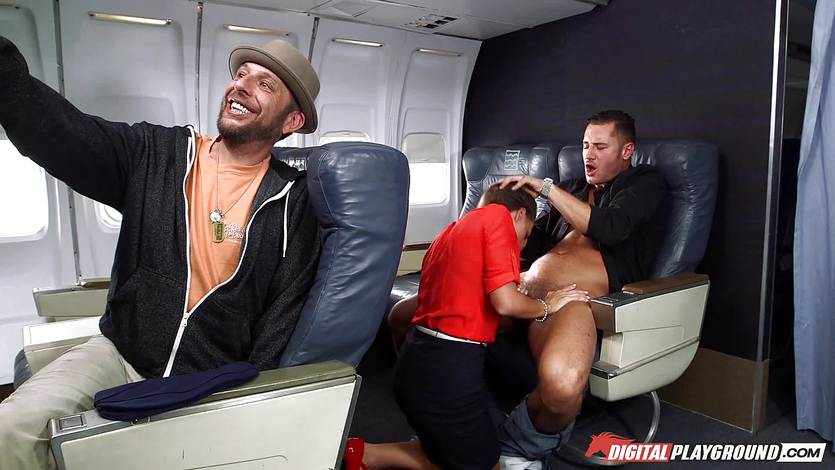 This flight will have turbulence with Abigail Mac | PornTube ®