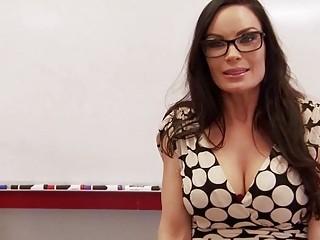 Hot teacher gets fucked inside classroom