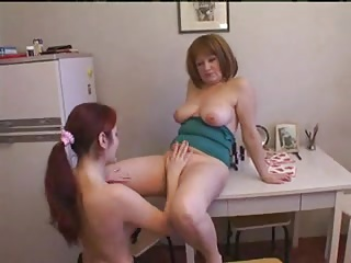 Russian mom and girl 3
