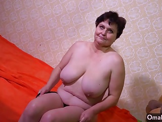 OmaHotel High old woman and granny with big boobs