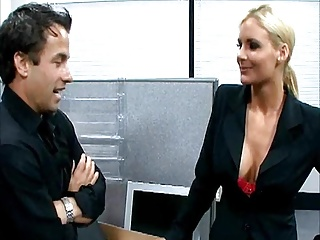 fucking blonde girl with big tits