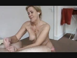 babcia obciąganie wideo