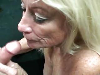 granny smokes fucks and swallows cum