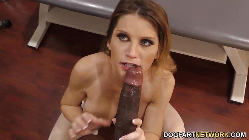 Nurse Sky Rodgers takes big black cock | PornTube ®