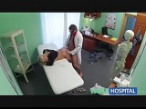 Doctors cock heals sexy squirting blonde
