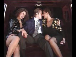 Vintage Car FFM Sex
