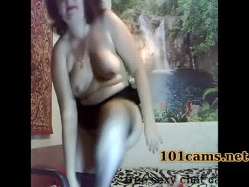 mature free online Plump sexy mom decided to caress anus after dancing!