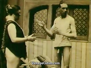 Masturbating and Persuasion to Suck (1920s Vintage)