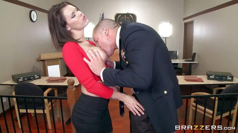 Peta Jensen caught masturbating before a big dick fucking   PornTube ®