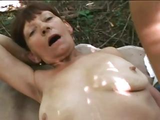 Granny eats a load