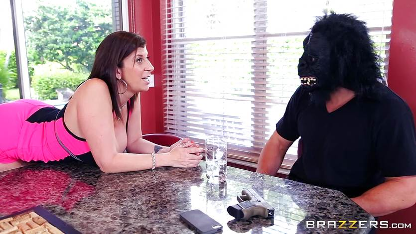Cock yearning Sara Jay gets an unexpected fucking   PornTube ®