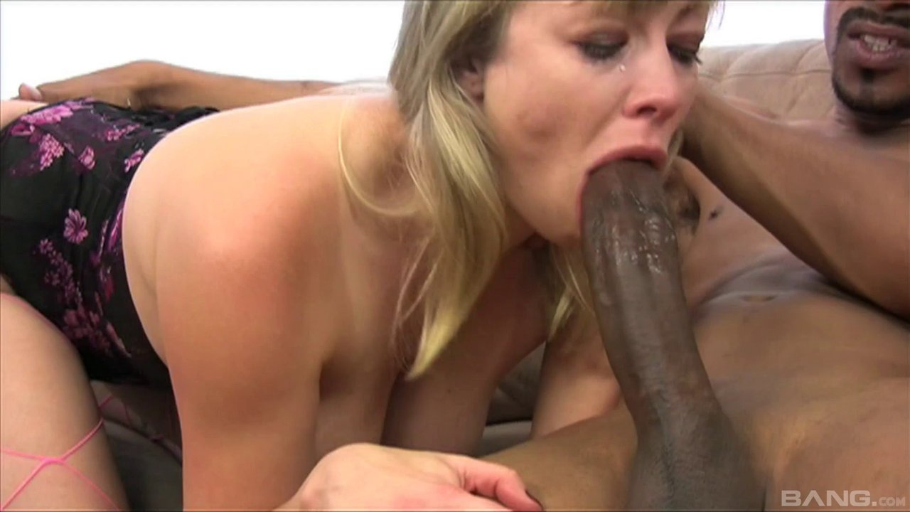 Good Slut Takes A Huge Black Dick In Her Tight Ass