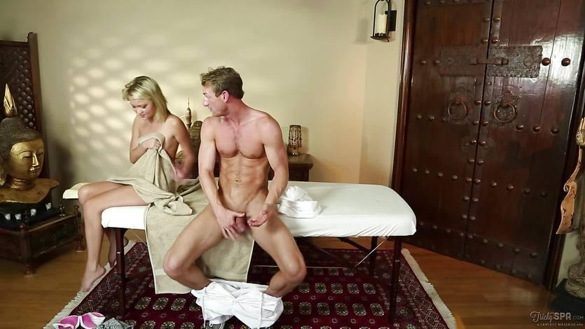 Tricking religious Kota Skye into gagging on dick | PornTube ®