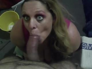 Amateur POV Blowjob#1-Vanessa