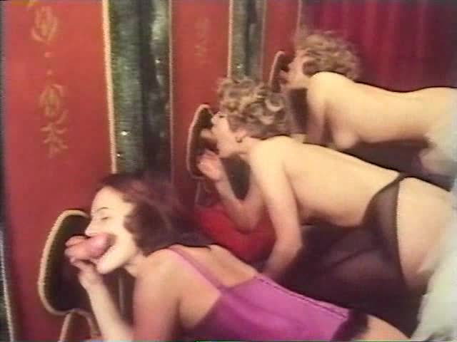 Two Retro Sluts Blow And Get Their Cunts Drilled Remarcably Well